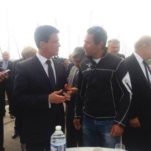 Romain ATTANASIO et M. Valls