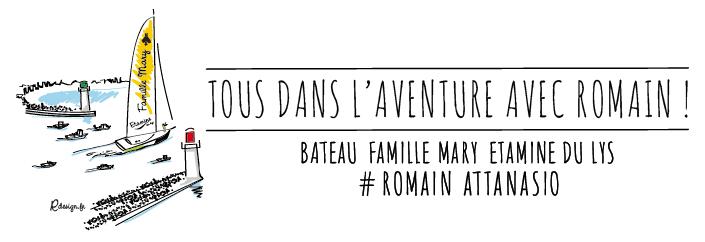 Tous dans l'aventure avec Romain
