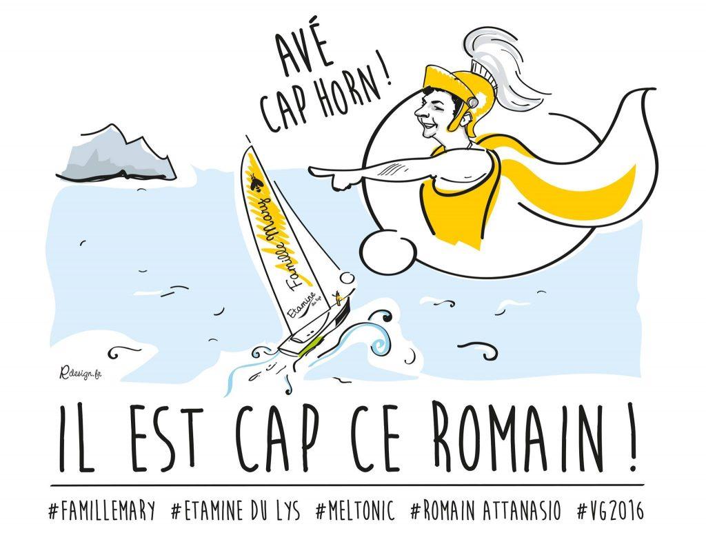 Il est CAP ce Romain !